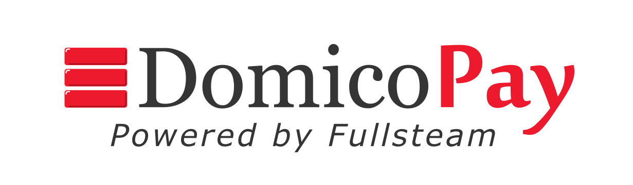 domicopay powered by fullsteam logo
